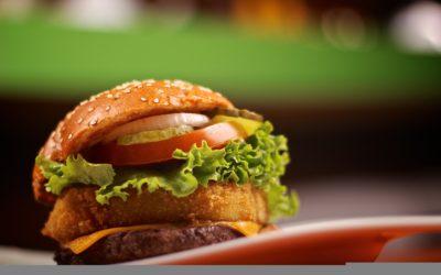 Burger Shake Product Photography